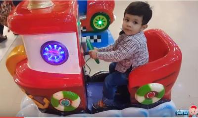 Cute baby Arham Wheels On The Bus