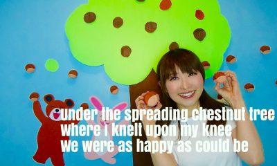 Under the Spreading Chestnut Tree Nursery Rhyme Lyrics