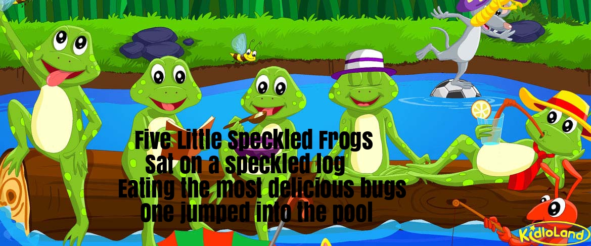 Speckeled frog