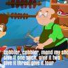 Cobler Cobler Nursery Rhyme Lyrics