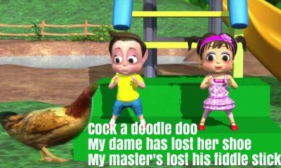 Cock A Doodle Doo Nursery Rhyme Lyrics