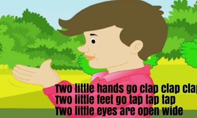 Two Little Hands Go Clap Nursery Rhyme Lyrics