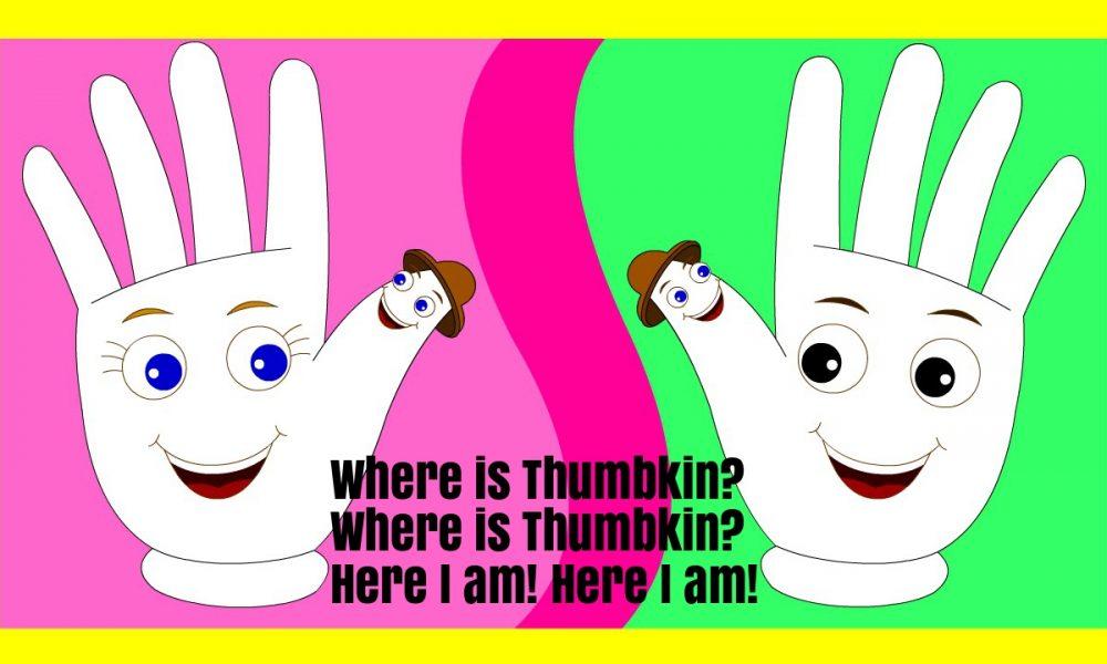 Where Is Thumbkin Nursery Rhyme Lyrics Super Fun Baby