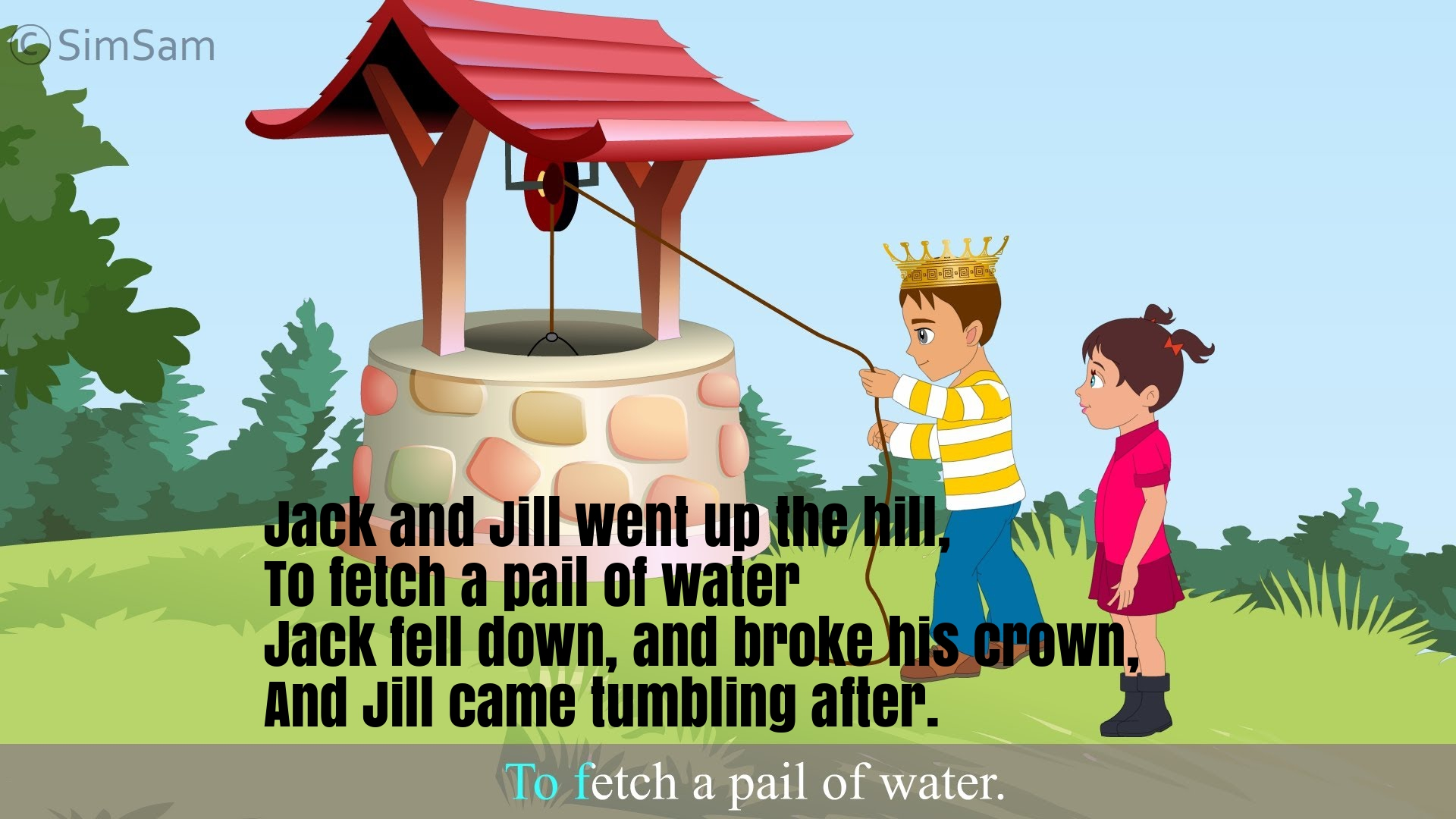 Description The Origin Of Jack And Jill Nursery Rhyme