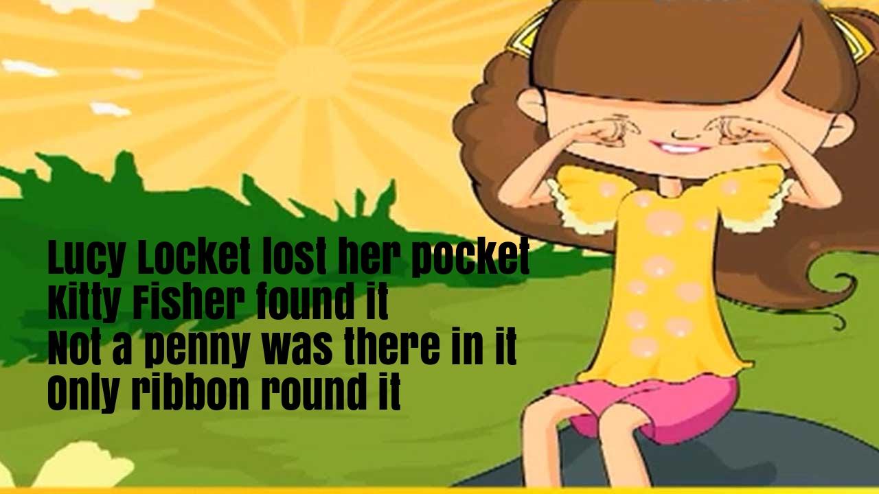 Lucy Locket Nursery Rhyme Lyrics