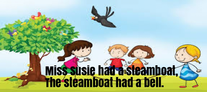 Miss Susie had a steamboat