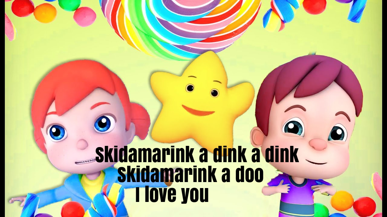 Skidamarink Nursery Rhyme Lyrics
