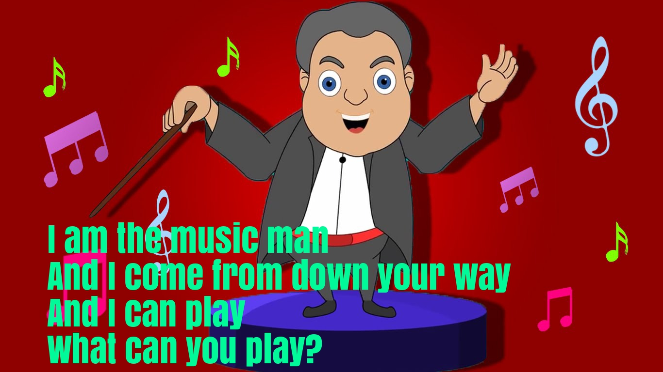 The Music Man Nursery RHyme Lyrics