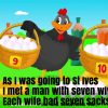 As I Was Going To St Ives Nursery Rhyme Lyrics