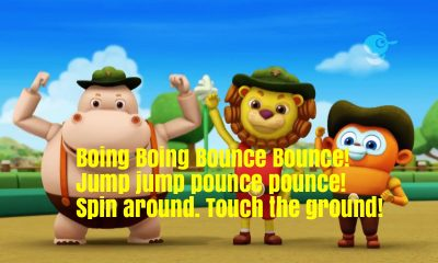Boing Boing Bounce Bounce Nursery Rhyme Lyrics