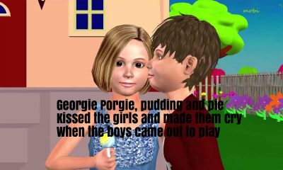 Georgie Porgie Nursery Rhyme Lyrics
