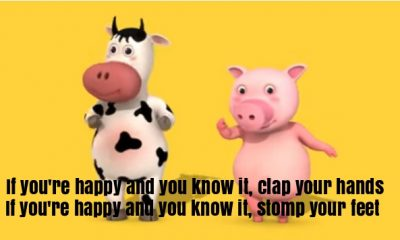 If youre happy and you knowit