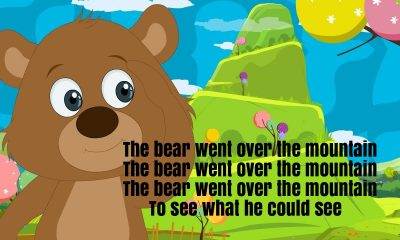 The Bear Went Over The Mountain Rhyme Lyrics