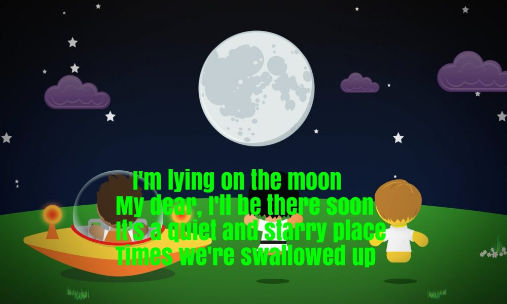 The Moon Song Lyrics Super Fun Baby