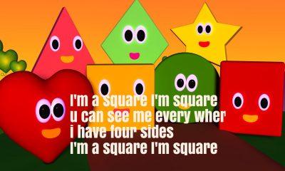 The Shapes Song Nursery Rhyme Lyrics