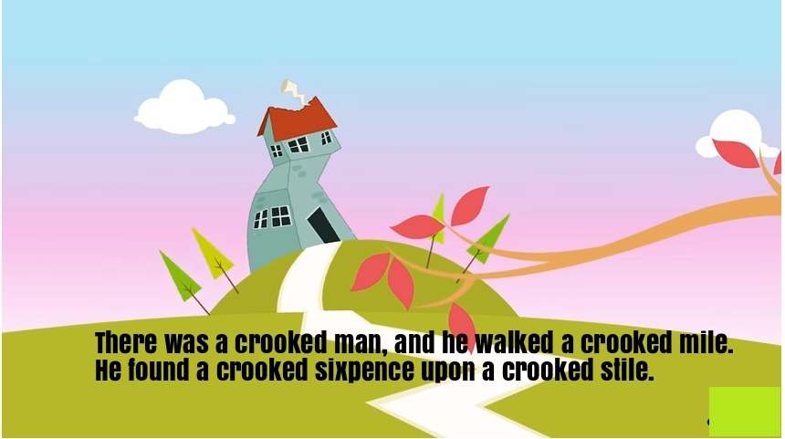Description There Was A Crooked Man Is An Old Nursery Rhyme With Educational Meaning