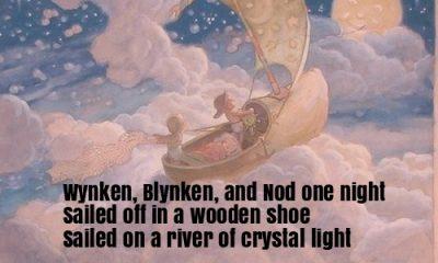 Wynken, Blynken, and Nod Nursery Rhyme Lyrics