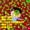 Apple Song Rhyme Lyrics