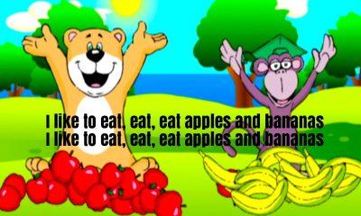 Apples and Bananas Rhyme Lyrics