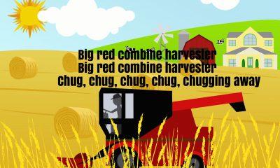 Big Red Combine Harvester Song Lyrics