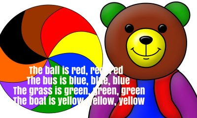 Colors & Objects Song Rhyme Lyrics