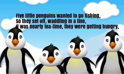Five Little Penguin Counting Song