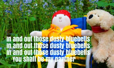 In And Out The Dusty Bluebells Nursery Rhyme Lyrics