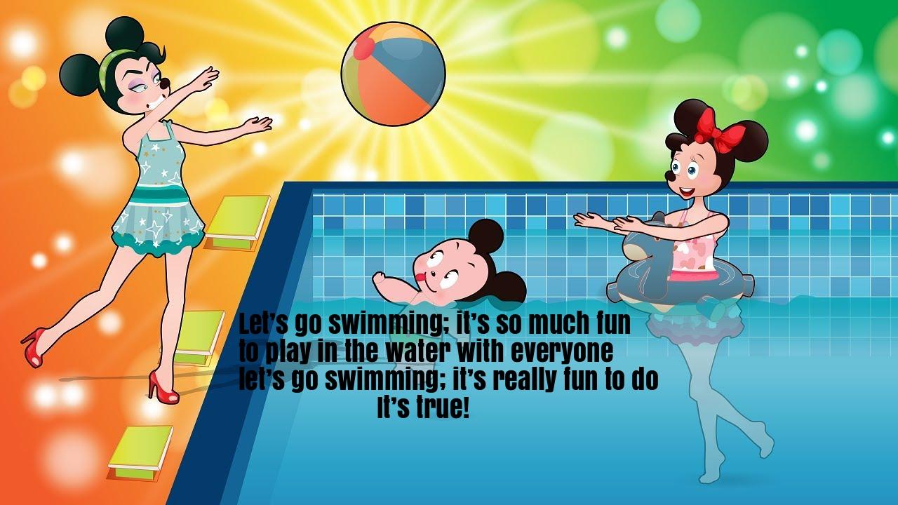 Swimming Song Rhyme Lyrics