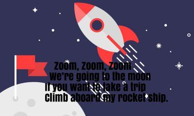 Zoom Zoom Zoom Song Rhyme Lyrics