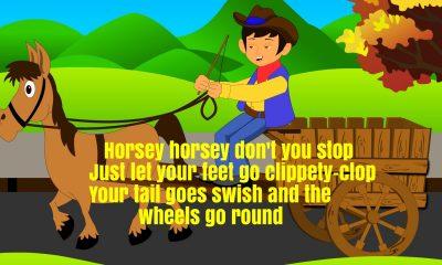 Horsey Horsey Don't You Stop Nursery Rhyme Lyrics