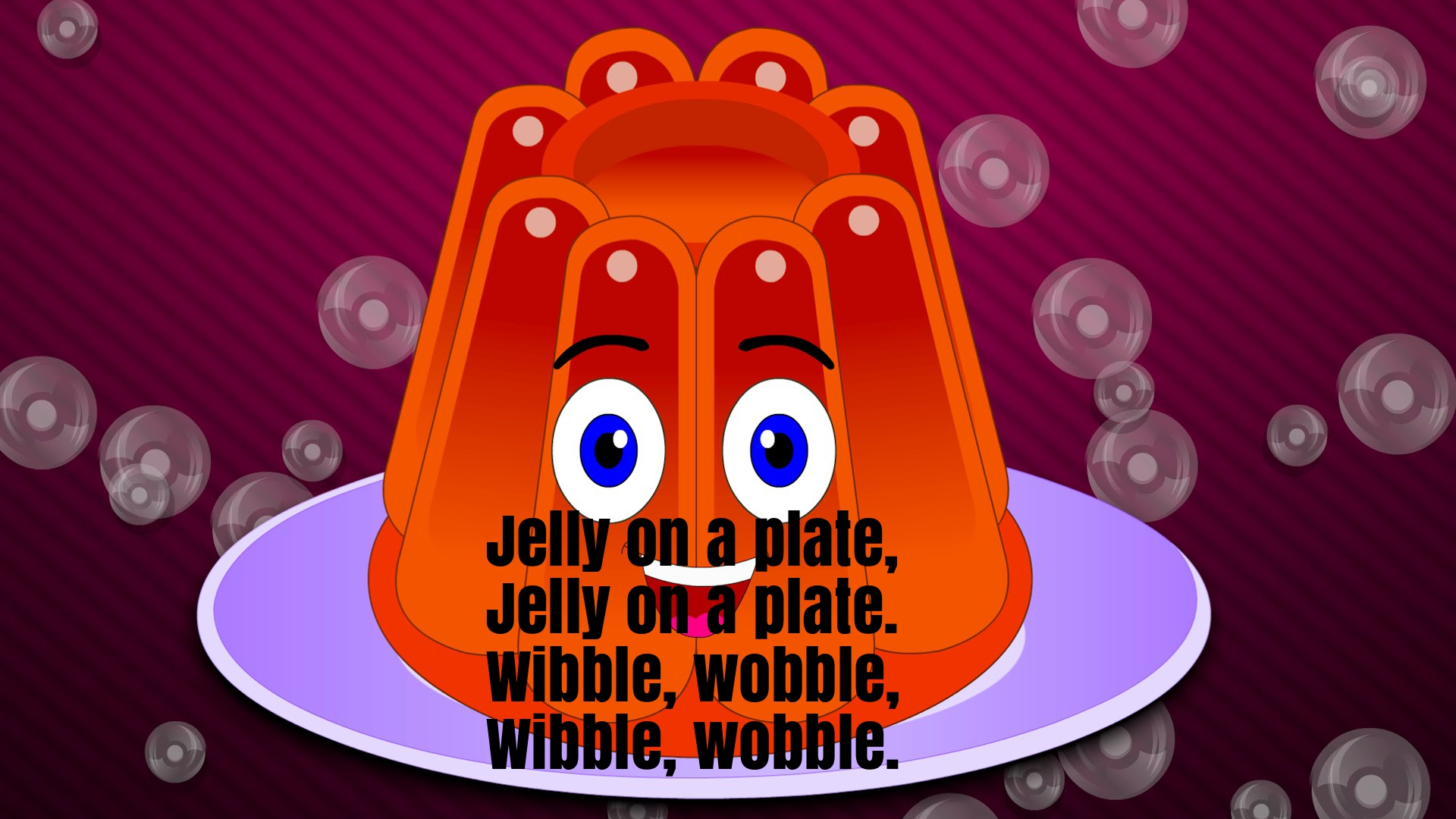 Jelly On The Plate Nursery Rhyme Lyrics