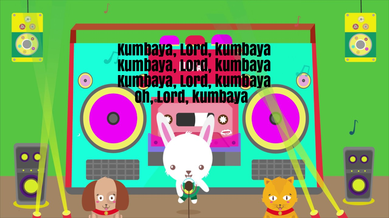 Kumbaya Nursery Rhyme Lyrics