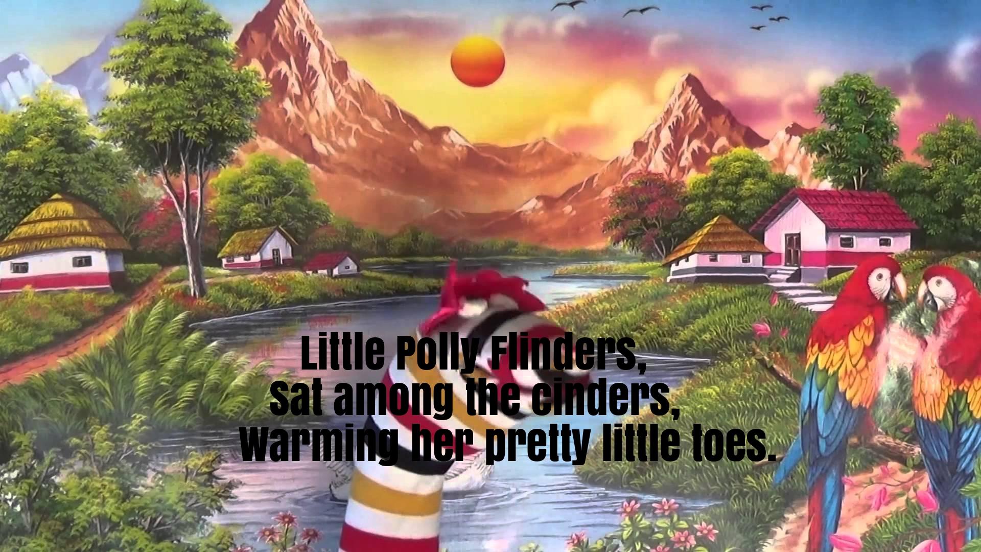 Little Polly Flinders Nursery Rhyme Lyrics