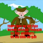 Michael Finnegan Nursery Rhyme Lyrics