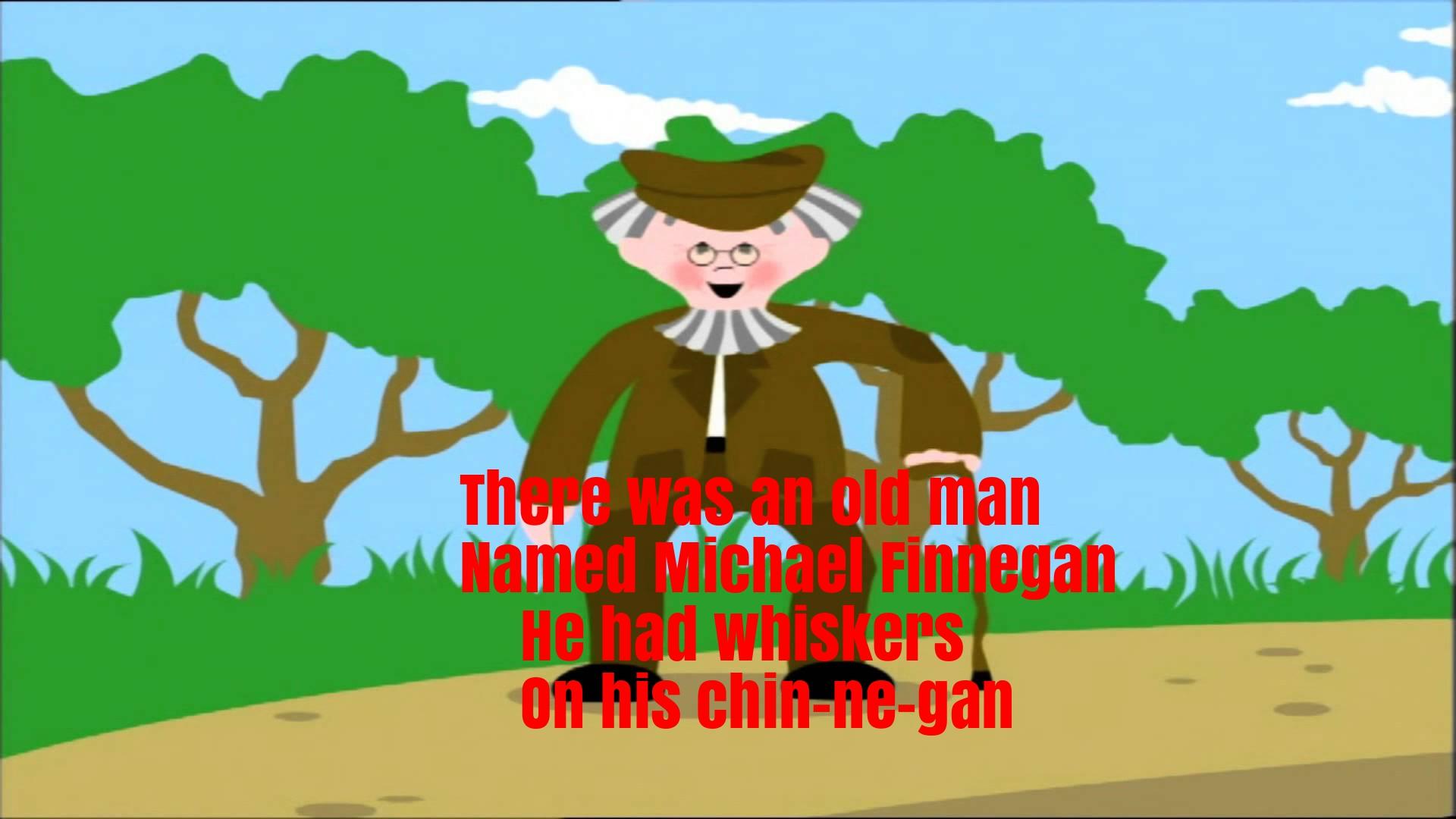 Michael Finnegan Nursery Rhyme Lyrics