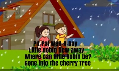 Pit Pat Nursery Rhyme Lyrics