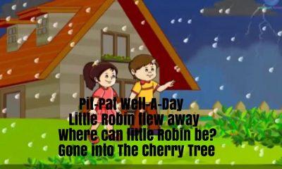 Pit Pat Nursery Rhyme Lyrics