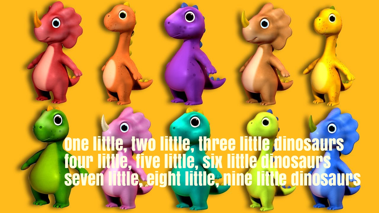 Ten-Little-Dinosaurs-Nursery-Rhyme-Lyrics
