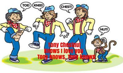 Tony Chestnut Nursery Rhyme Lyrics