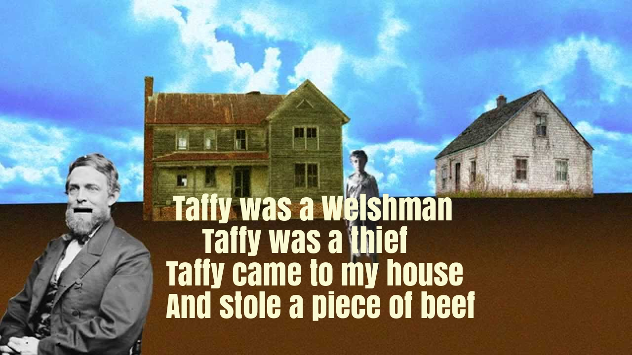 Taffy Was A Welshman Nursery Rhyme Lyrics