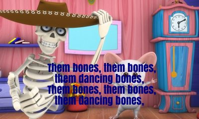 The Skeleton Dance Nursery Rhyme Lyrics