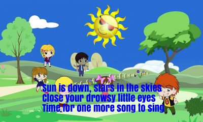 The Sun Is Down Nursery Rhyme Lyrics