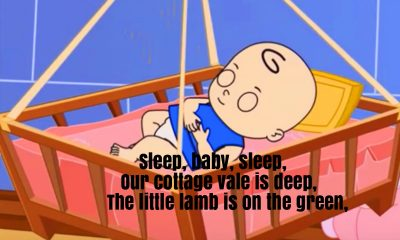 Sleep Baby Sleep Nursery Rhyme Lyrics