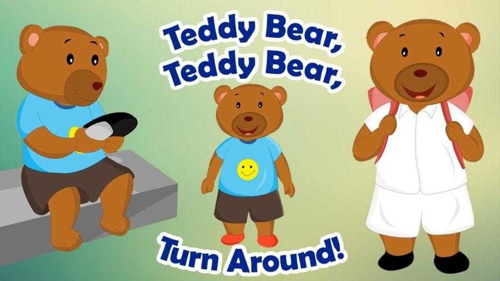 Teddy Bear, Teddy Bear, Turn Around Video And Lyrics kids song