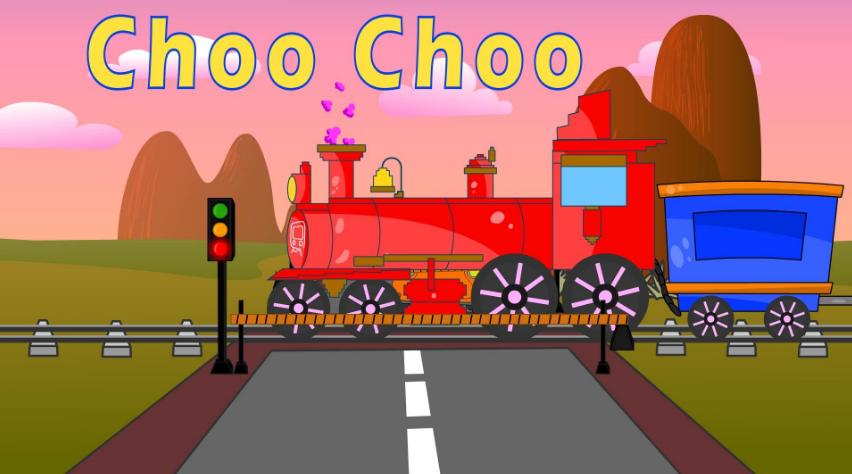 Choo Choo Train kids song Lyrics And Video