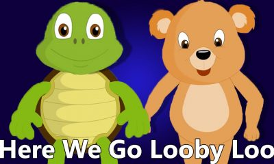 Here We Go Looby Loo Kids Song Video And Lyrics