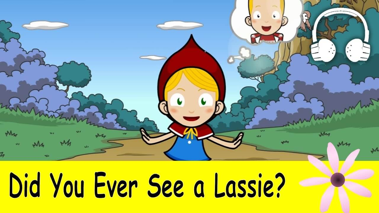 did you see ever a lassie kids song download