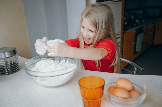 make a cake kids song