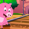 Piggie on the railway
