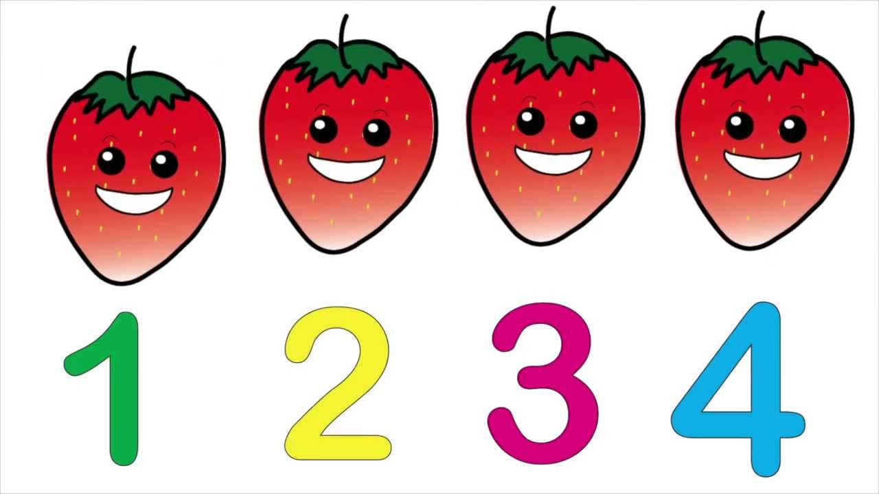 i like counting fruits
